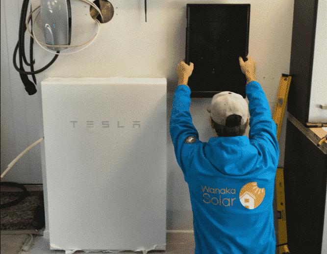 Solar Battery Installation